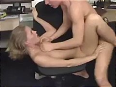 sex, hot, cumshot, blowjob, young, office, blonde, german