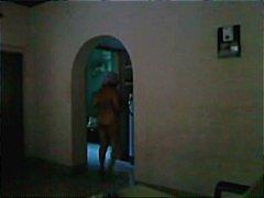 шпионски, голи, мама, голи жени, баня