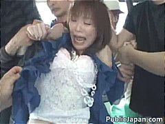 азиатки, японки, масов секс, воайор, публично