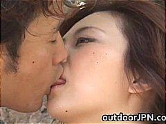 日本人, フェラチオ, 公衆, アジア人, 野外セックス