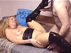 leather, cougar, hot pussy, boots