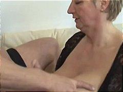 granny, große brüste, deutsch