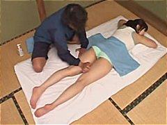 масаж, аматьори, японки