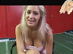 金髪, 射精, 熟女, 射精瞬間, 大きな尻と巨乳, 3人プレイ, 乳首
