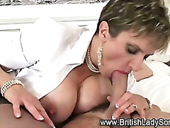 अधेड़ औरत, ब्रिटिश, मुखमैथुन