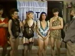 лесбийки, старо порно, групов секс