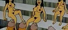 dessins animés, drôles, vintage