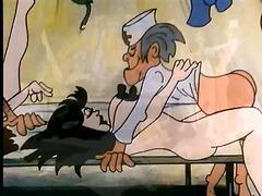 анимация, забавни, старо порно
