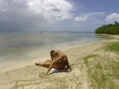 публично, анално, плаж