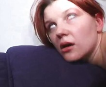 double penetration, anal, redheads