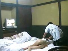 масаж, флашинг, публично, азиатки