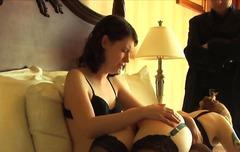 lesbiske, bdsm, spanking