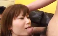 asien, lady, japanisch, geschäft, büro