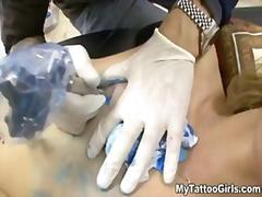татуировка, яки мацки, блондинки