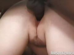 black, creampie, blowjob, dick, big, blonde, cunnilingus