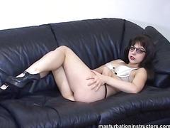 учител, очила, фетиш, мастурбация, бикини