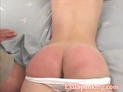엉덩이 때리기, 페티시, 변태