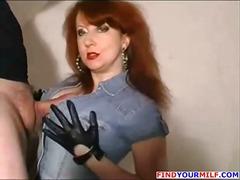 redhead, lady, mature, t.y., older, cumshot, chubby, wife, blowjob