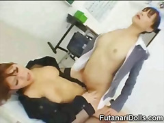tranny, asian, young, cock, riding, japanese, transsexual, schoolgirl, hardcore, hermaphrodite
