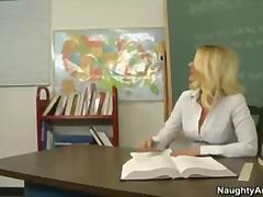 учител, блондинки, голям бюст