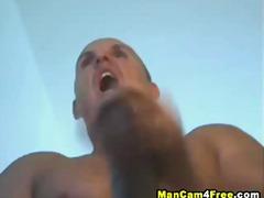hard, muscle, hunk, gym, dick, masturbating, cock, penis