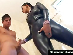 glamour, blowjob, classy, posh, heels, fetish, satin, shoes, clothed, european