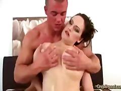 brunette, boobs, huge, blowjob, large, titfuck, breasts, k.d., t.y., big