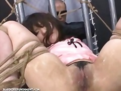 rollenspiele, extreme, dominanz, angebunden, sklave, brutal, japanisch