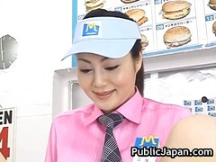 азиатки, японки, междурасово, воайор, публично