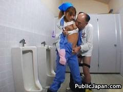 日本人, フェラチオ, 覗き見, 公衆, アジア人, 野外セックス