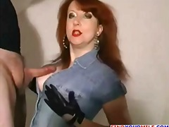 mature, lady, older, wife, chubby, redhead