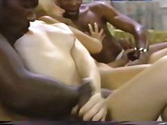 старо порно, блондинки, междурасово