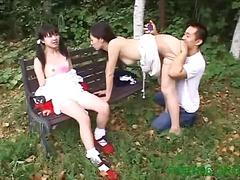 japanese, brunette, blowjob, hardcore, asian