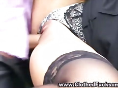 hardcore, blowjob, satin, classy, group, fetish, european, glamour, clothed, threesome