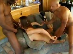 голям кур, черни, бели