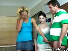 чекия, жена гол мъж, големи цици