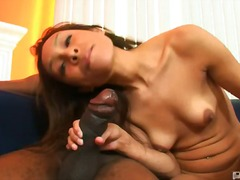 hardcore, shaved, cock-riding, latin, nipples, oral, braces, small-tits, interracial, brunette