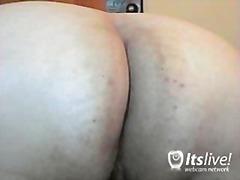 jari, seorang, porno hardcore, kamera web, wanita gemuk
