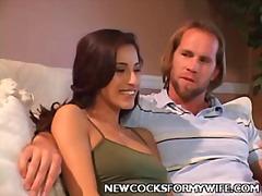 брюнетки, групов секс