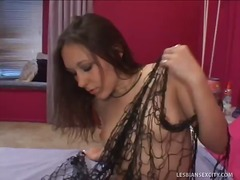 bed, lesbian, hardcore, fingering, fishnets, casting, masturbation