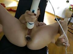 анално, оргазъм, мастурбация, играчка, вибратор