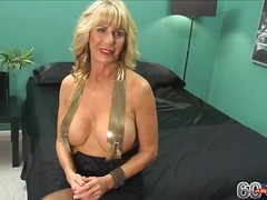 interview, reality, mature, big-tits, blonde