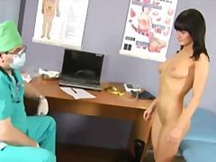 膣鏡, ぽっちゃり, 口フェラ, ティーン, 異物挿入, 産婦人科