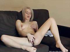 мастурбация, блондинки, космати