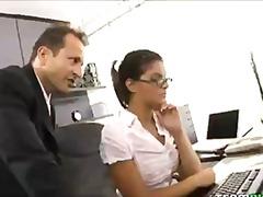 office, teamskeet.com, piercing, brunette, hardcore, ass-fucking, pussy-eating, anal, teamskeet