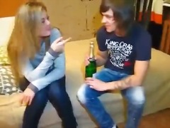 blowjob, rasiert, double penetration, teen, pärchen, betrunken, finger, college, blond