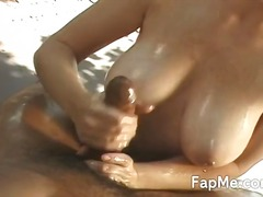 hand-job, girl-on-girl, big-tits, cock-riding, luscious, wanking, black, takes, amazing