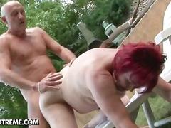 anal, hardcore, granny, outdoors, redhead, blowjob, mature