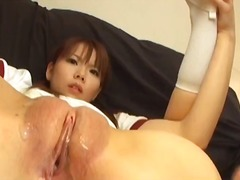 speculum, brunette, t.y., toys, asian, pussy-eating