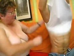 групов секс, възрастни, цици, мама, възбудени, дама